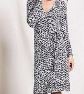 Boden heart wrap dress 16